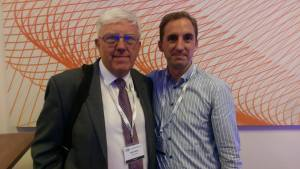 Speaking at an intranet conference in October 2014 in London and met up briefly with my mentor Martin White